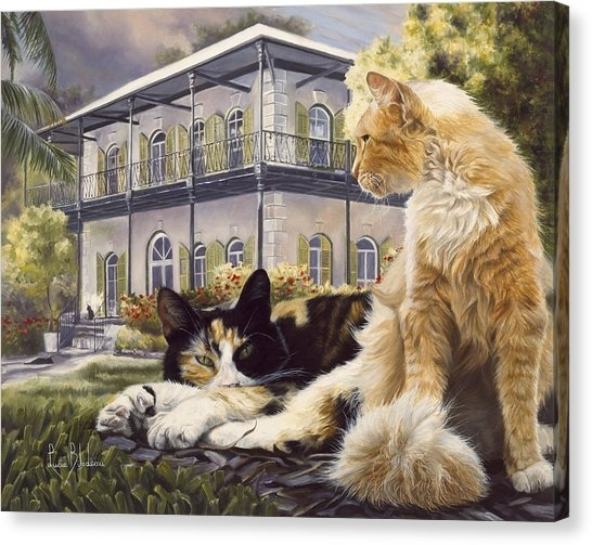 Polydactyl Cat Canvas Prints | Fine Art America Regarding Cat Canvas Wall Art (View 24 of 25)