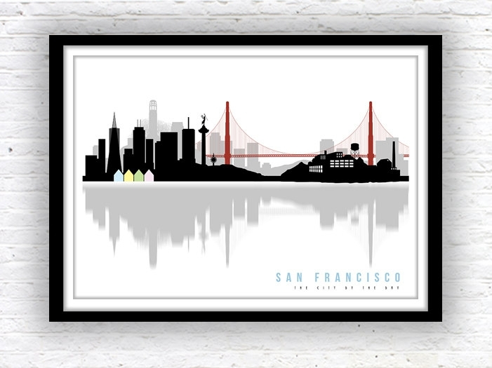 Prissy San Francisco Wall Art | Bargainfindsonebay Regarding San Francisco Wall Art (Image 14 of 25)