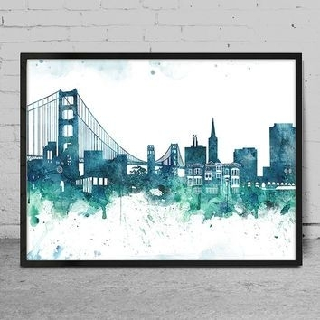 Prissy San Francisco Wall Art | Bargainfindsonebay With Regard To San Francisco Wall Art (Image 16 of 25)