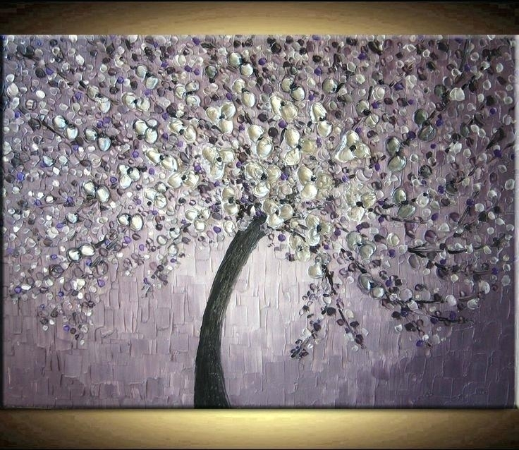 Purple And Gray Wall Art – Slowak Inside Purple And Grey Wall Art (Image 15 of 25)