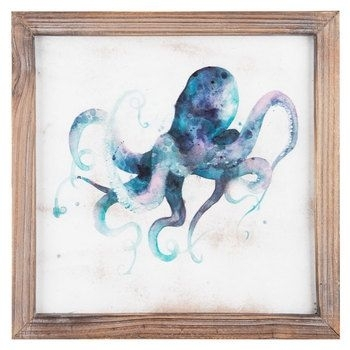 Purple & Blue Octopus Wall Art | Decor | Pinterest | Octopus Wall Within Octopus Wall Art (View 10 of 20)