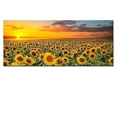 Qoo10 – (Kolo Wall Art) Sunflower Canvas Wall Art Prints,brilliant Pertaining To Sunflower Wall Art (Image 9 of 25)