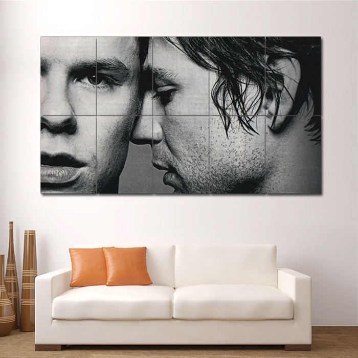 Queer As Folk Gay Tv Block Giant Wall Art Poster Within Giant Wall Art (Image 23 of 25)