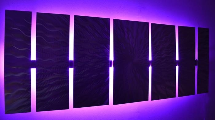 R Beautiful Led Wall Art – Wall Decoration Ideas With Regard To Led Wall Art (View 3 of 20)
