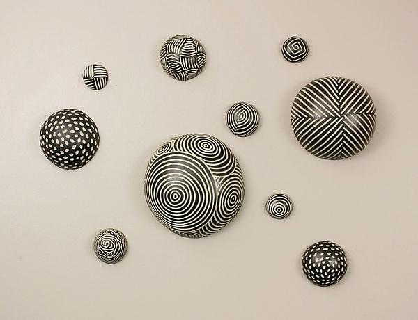 Random Pattern Wall Ballslarry Halvorsen (Ceramic Wall Art With Regard To Ceramic Wall Art (Image 17 of 25)