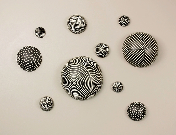 Random Pattern Wall Ballslarry Halvorsen (Ceramic Wall Art With Regard To Ceramic Wall Art (View 6 of 25)