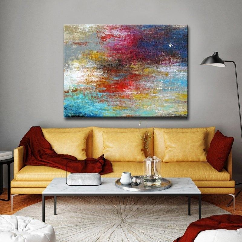 Ready2Hangart Strange Currents Canvas Wall Art   Hayneedle Pertaining To Wall Art (Image 6 of 10)