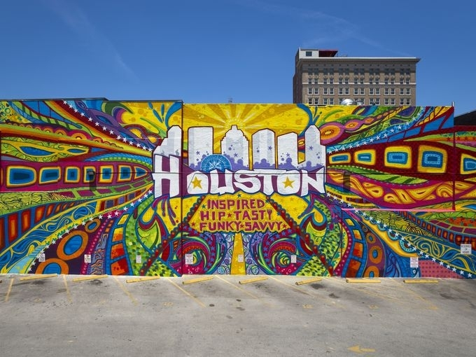 Real Discoveries: 10 Most Inspirational Graffiti Walls In Houston Intended For Houston Wall Art (Image 23 of 25)