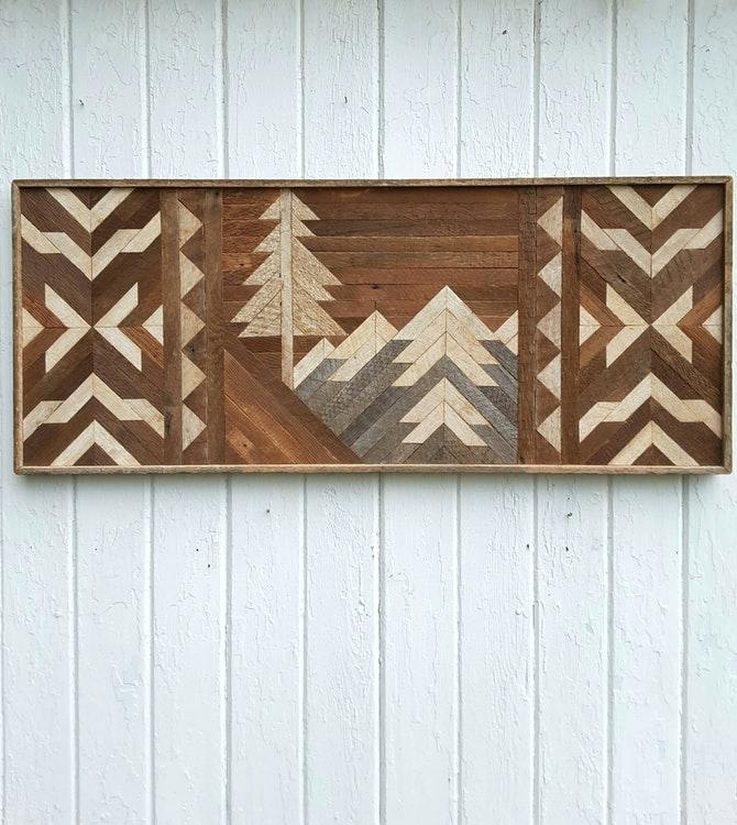 Reclaimed Wood Art Wall Reclaimed Wood Lovely Wood Wall Art With Reclaimed Wood Wall Art (Image 3 of 10)