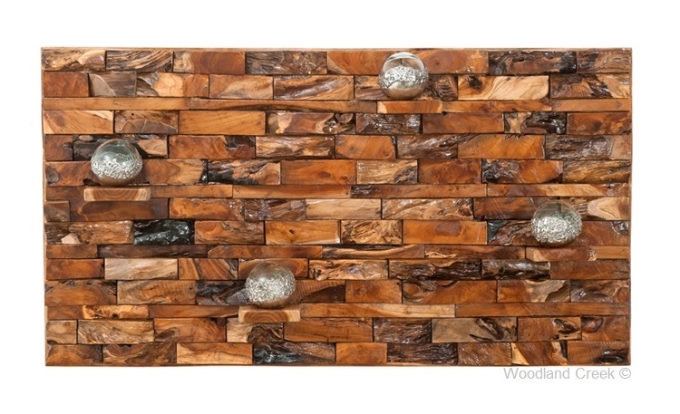 Reclaimed Wood Wall Art With Shelves, Ledgewood Wall Art With Reclaimed Wood Wall Art (Image 5 of 10)
