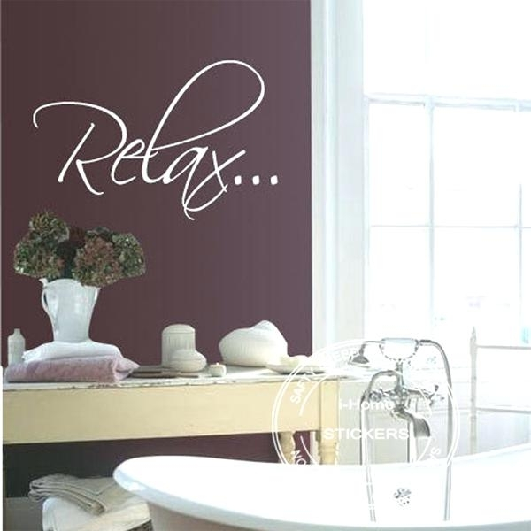 Relax Wall Art Relax Wall Decor – 7Thhouse In Relax Wall Art (View 3 of 20)