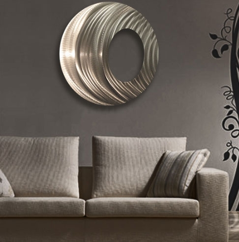 Ringtone Circle Metal Wall Art Panel Within Circle Wall Art (View 6 of 25)