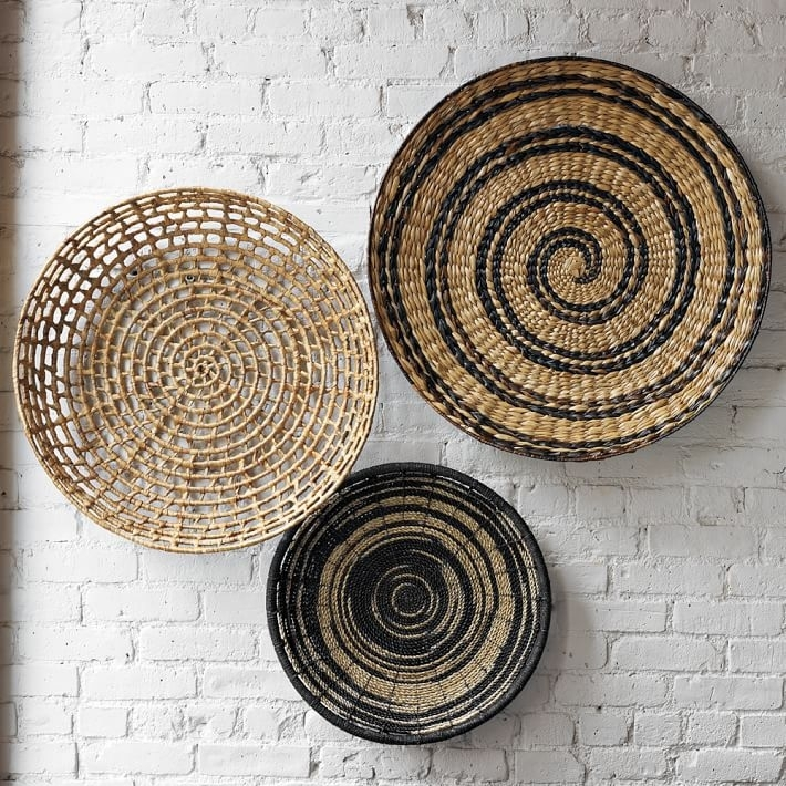 Round Basket Wall Beautiful Round Wall Decor – Wall Decoration Ideas For Round Wall Art (View 11 of 25)