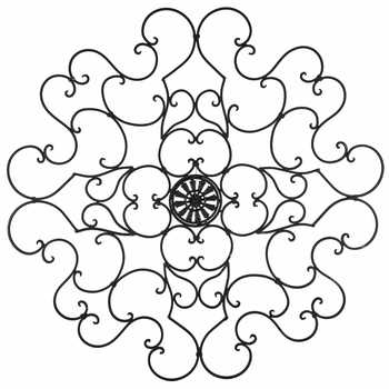 Round Black Metal Scroll Wall Decor | Hobby Lobby | 816108 Inside Metal Scroll Wall Art (View 14 of 20)