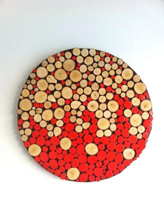 Round Wall Art Surprising Inspiration Round Wood Wall Decor House Pertaining To Round Wood Wall Art (View 2 of 10)