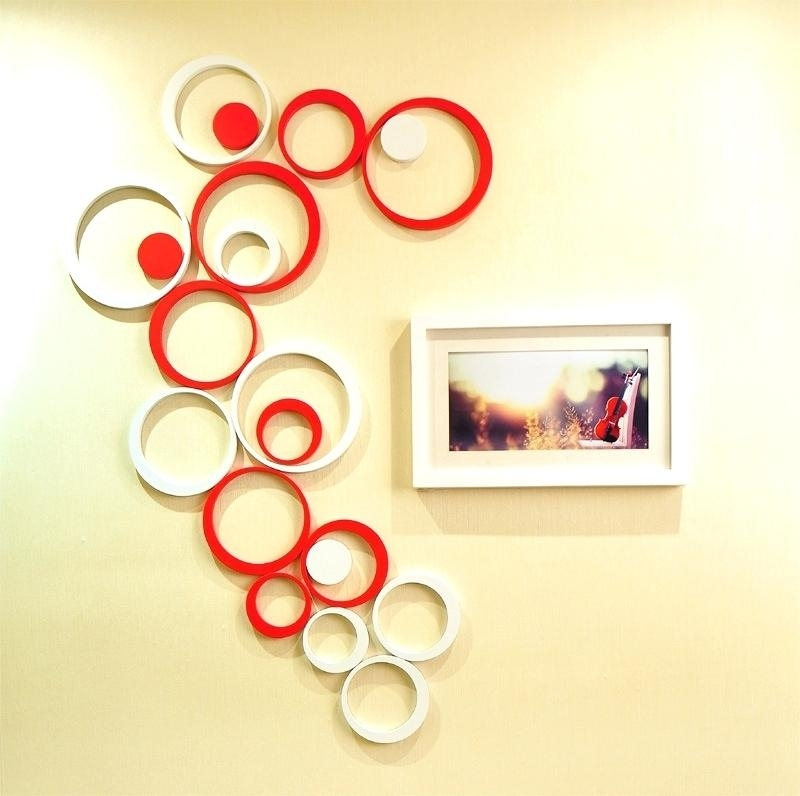 Round Wall Decor Wall Arts Metal Circle Wall Art Shining Design With Circle Wall Art (View 9 of 25)