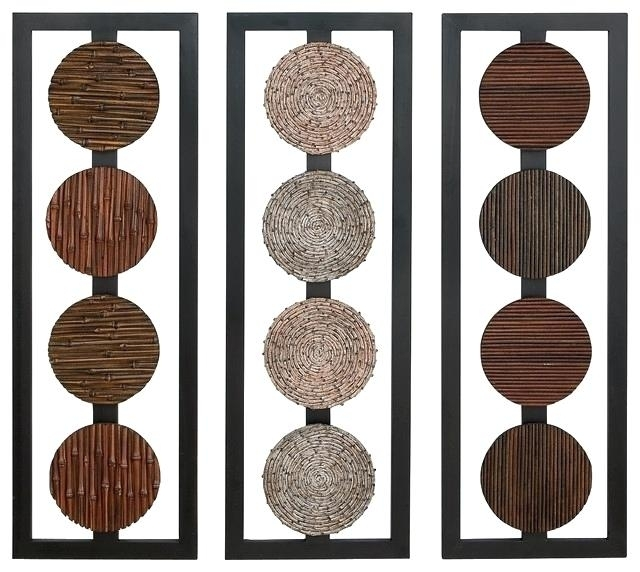 Round Wood Wall Decor Circular Wood Wall Decor Prepossessing Regarding Round Wood Wall Art (Image 6 of 10)