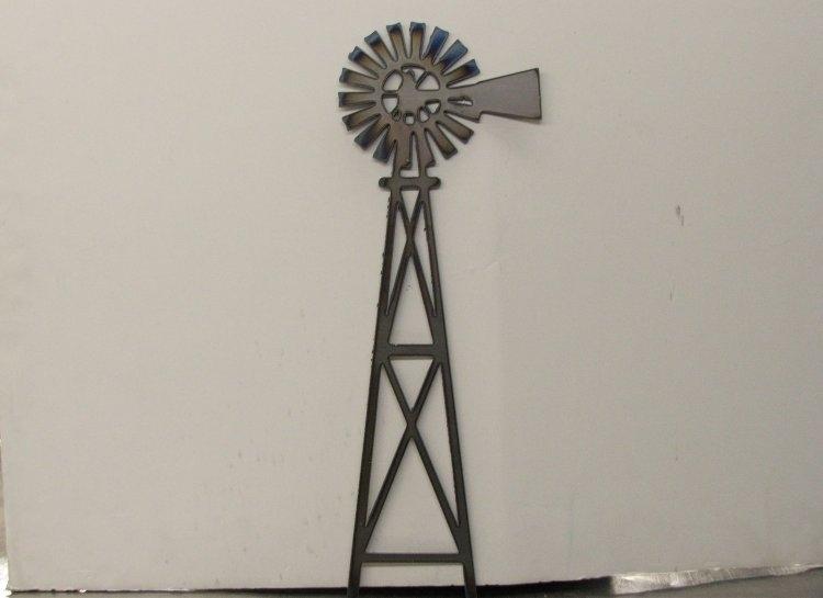 Rsr Metal Art Creations – Custom Metal Art – Windmill In Windmill Wall Art (Image 13 of 20)