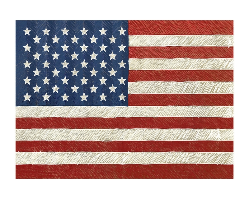 Rustic American Flag Wall Art Printsamy Marsh | Minted Throughout Rustic American Flag Wall Art (View 7 of 25)