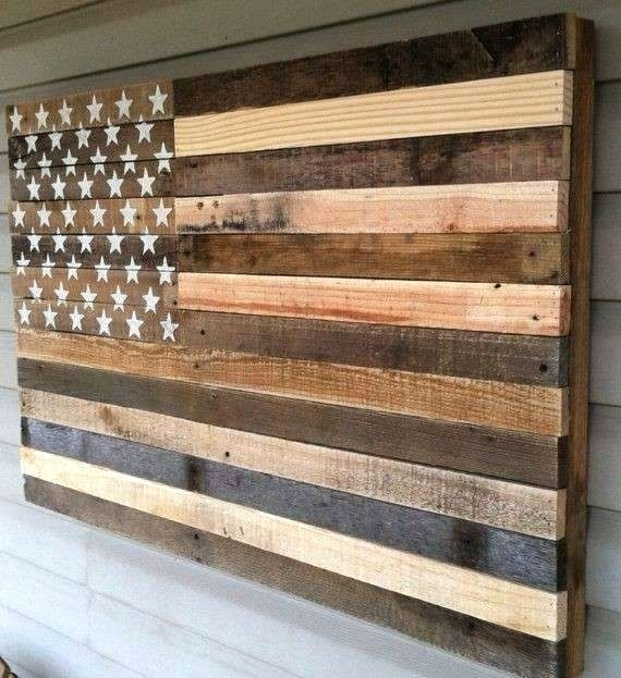 Rustic American Flag Wall Art Rustic Flag Wall Art Beautiful Wall Pertaining To Vintage American Flag Wall Art (Image 17 of 25)