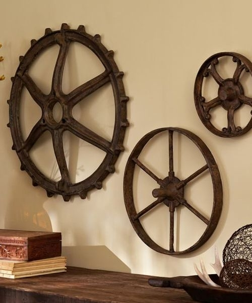 Featured Image of Rustic Metal Wall Art