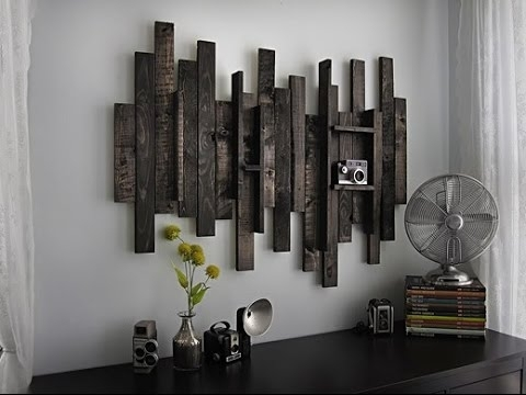 Rustic Wall Art # Rustic Wood And Metal Wall Art – Youtube Within Rustic Wall Art (Image 6 of 10)