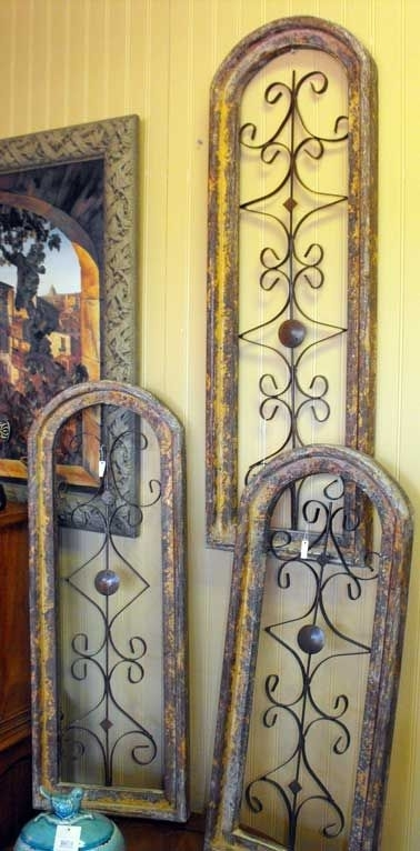 Rustic Wood And Metal Wall Art In Three Different Sizesmy Kind Of Within Wood And Metal Wall Art (View 10 of 25)