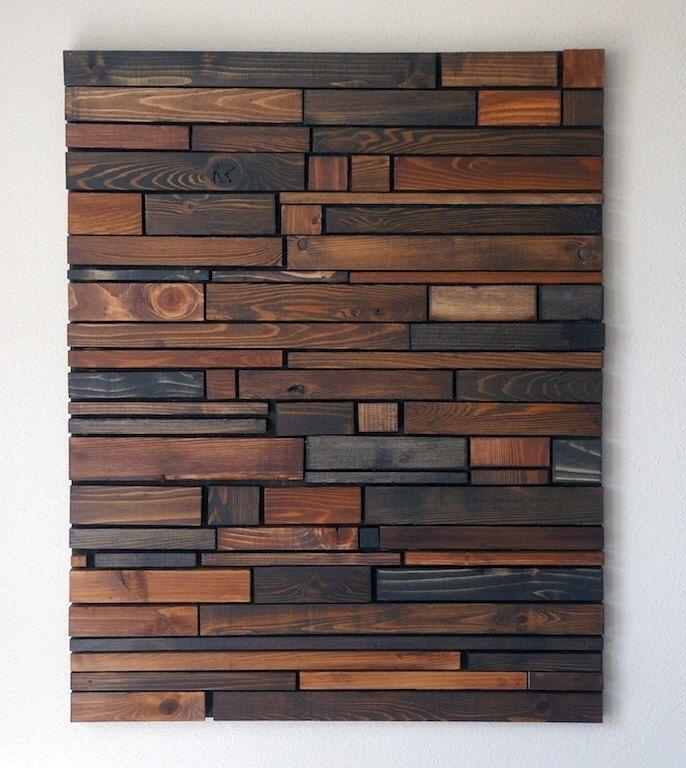 Rustic Wood Wall Art • Recous Inside Wood Art Wall (View 10 of 20)