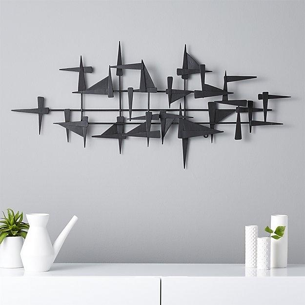 S Superb Black Metal Wall Decor – Wall Decoration Ideas Inside Black Metal Wall Art (Image 23 of 25)