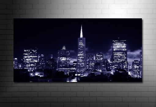 San Francisco Canvas Art With Regard To San Francisco Wall Art (Image 18 of 25)