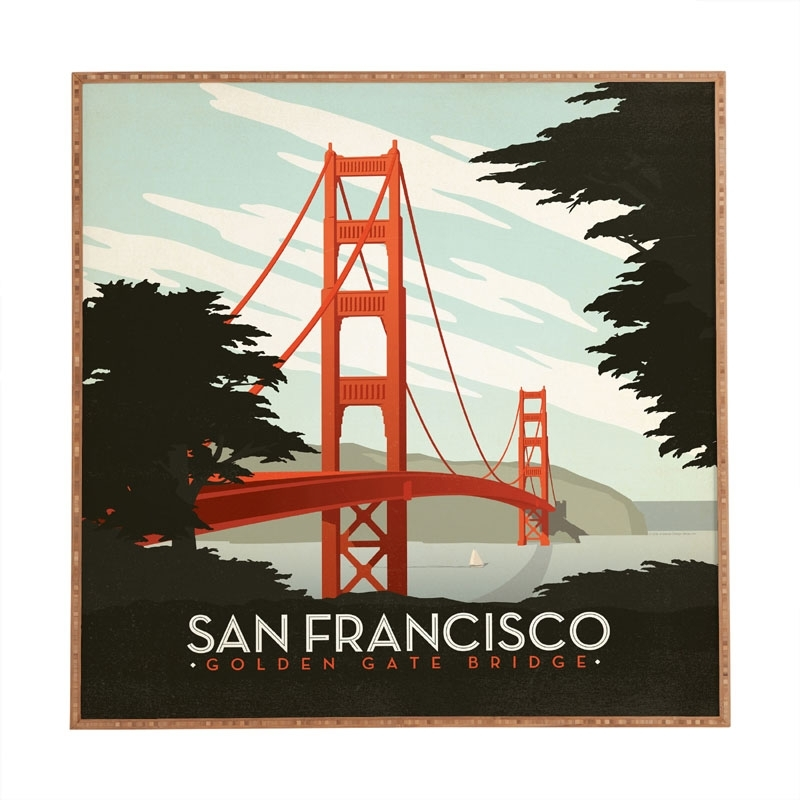 San Francisco Wall Art – Fallow Pertaining To San Francisco Wall Art (Image 21 of 25)