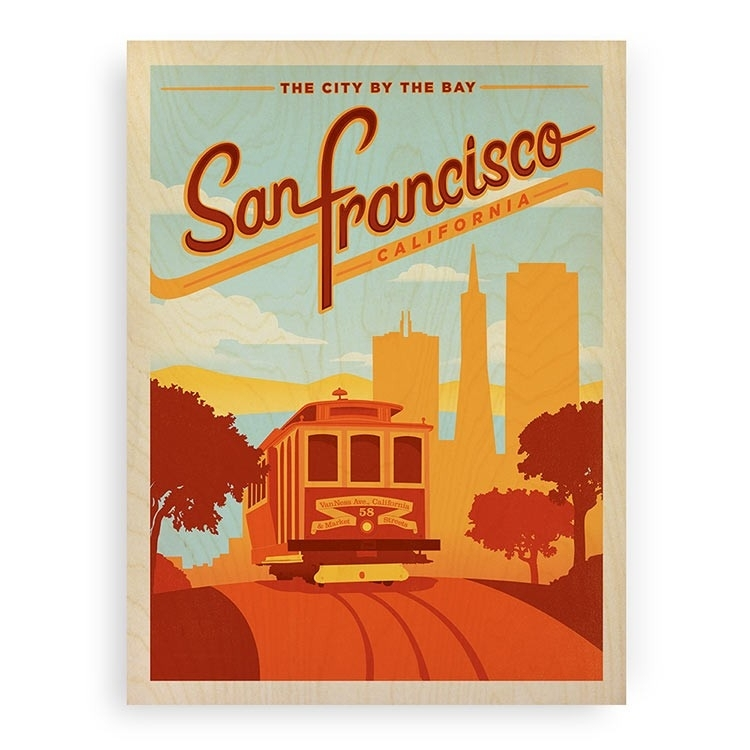 Featured Image of San Francisco Wall Art