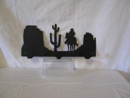 Scenic Arizona 3 Hook Coat Rack Metal Wall Artcabinhollow On For Arizona Wall Art (Image 24 of 25)