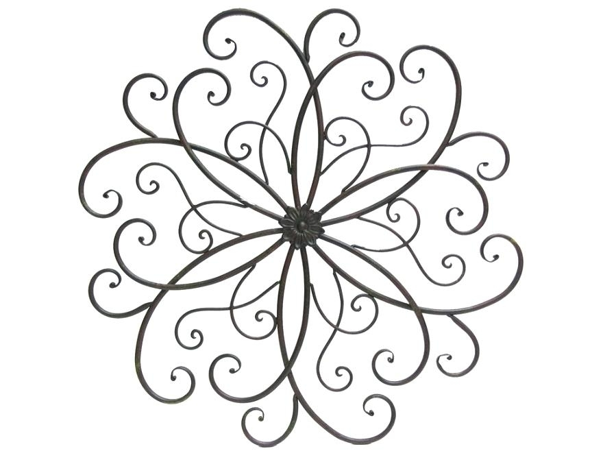 Scroll Wall Decor Awesome Metal Scroll Wall Decor Image Of Wrought Inside Metal Scroll Wall Art (Image 16 of 20)