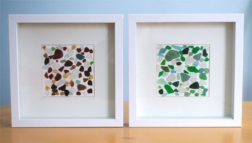 Sea Glass Wall Art Pertaining To Sea Glass Wall Art (Image 8 of 10)