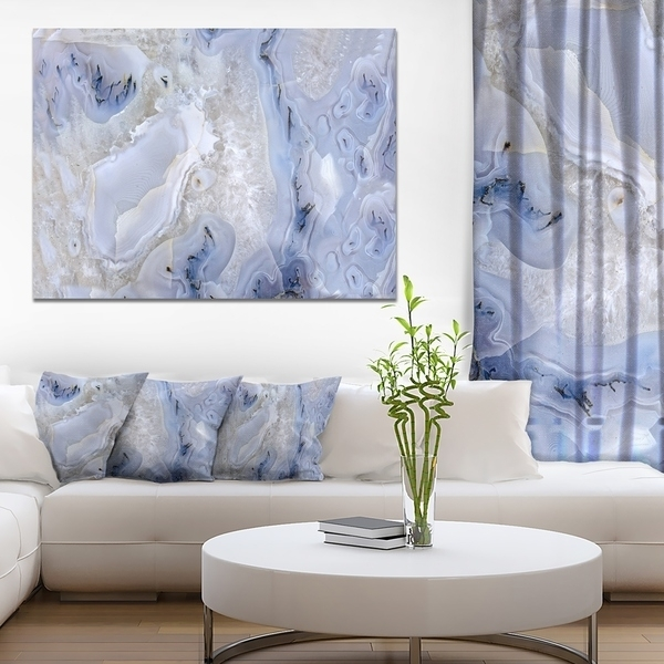 Shop Agate Stone Background' Abstract Canvas Wall Art Print – Free In Agate Wall Art (Photo 17 of 25)