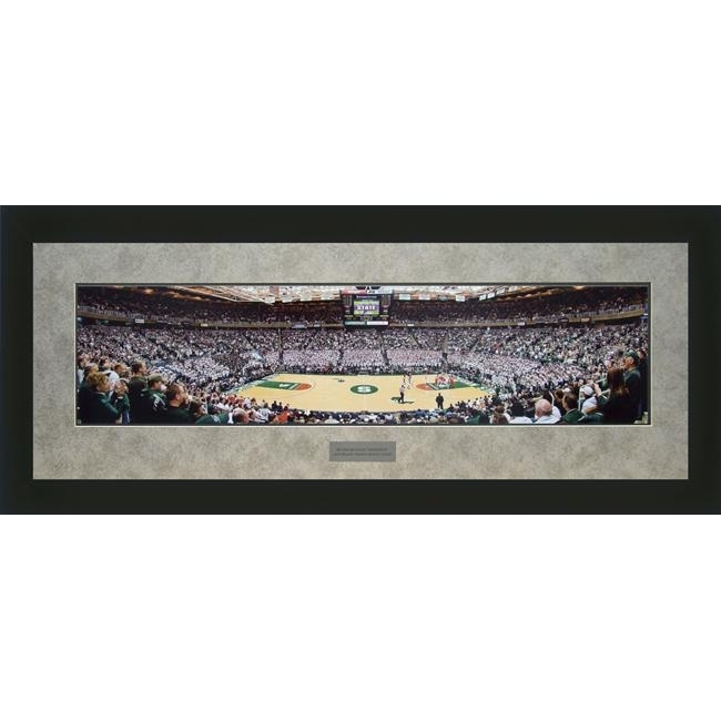 Shop Christopher Gjevre 'michigan State University' Framed Wall Art Intended For Michigan Wall Art (Image 18 of 25)