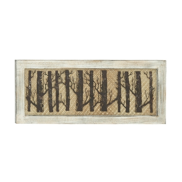 Shop Forested Wood Metal Wall Decor – Free Shipping Today Inside Wood And Metal Wall Art (Image 15 of 25)