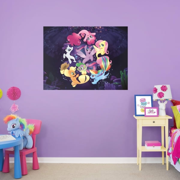 Shop Kids My Little Pony At Fathead In My Little Pony Wall Art (View 4 of 20)