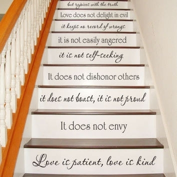 Shop Love Is Patient Love Is Kind Wall Decal On Wanelo Throughout Love Is Patient Wall Art (View 12 of 25)