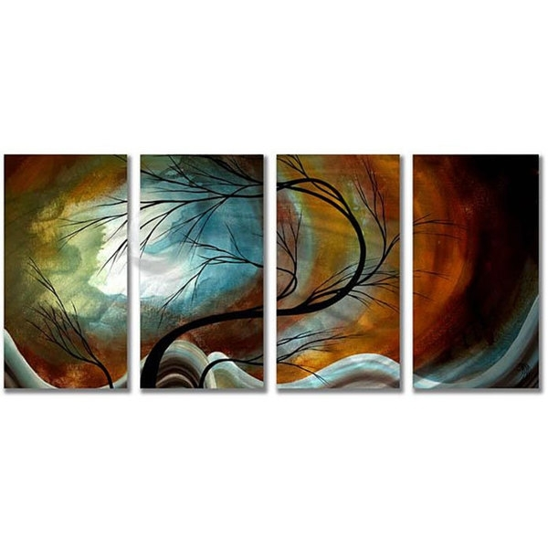 Shop Megan Duncanson 'midnight Wind' Metal Wall Art – Free Shipping Throughout Overstock Wall Art (Image 11 of 25)