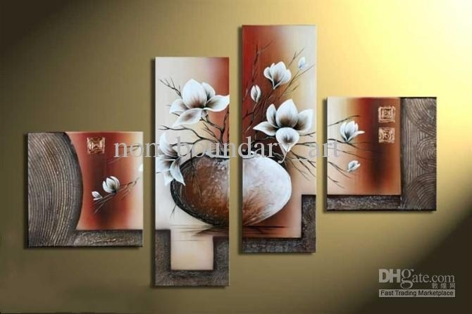 Shop Paintings Online, Framed Item!!!wholesale Oil Wall Art In Wall Canvas Art (View 7 of 10)