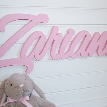 Shop Personalized Baby Wall Hangings On Wanelo In Personalized Wood Wall Art (Image 16 of 25)