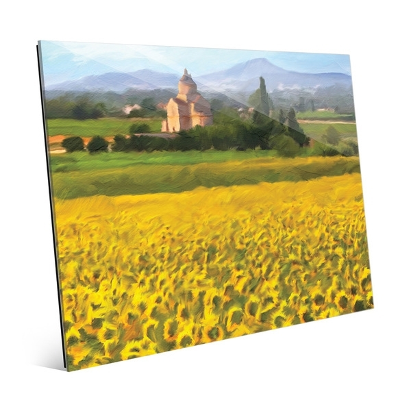 Shop 'provence Sunflowers' Acrylic Wall Art Print – On Sale – Free Throughout Sunflower Wall Art (Image 12 of 25)