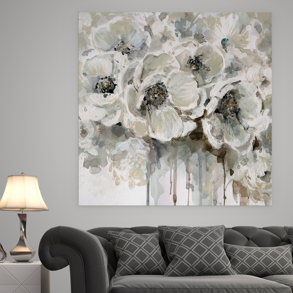 Shop 'quiet Moments' Premium Gallery Wrapped Canvas Wall Art – Free In Gray Canvas Wall Art (View 6 of 25)