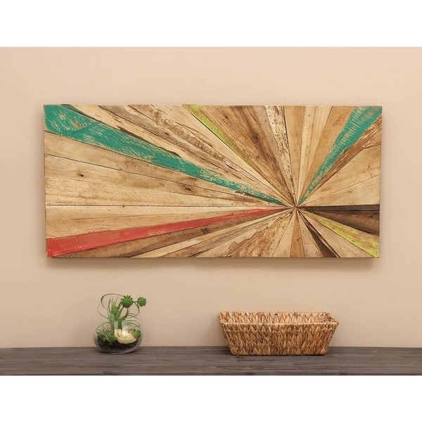 Shop Reclaimed Wood Wall Art – Free Shipping Today – Overstock Regarding Reclaimed Wood Wall Art (Image 8 of 10)