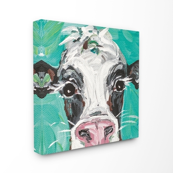 Shop Stupell Industries Oreo The Painted Cow Canvas Wall Art – On Pertaining To Cow Canvas Wall Art (View 10 of 25)
