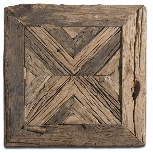 Shop Uttermost Rennick Reclaimed Wood Wall Art – Free Shipping Today Pertaining To Reclaimed Wood Wall Art (Image 9 of 10)