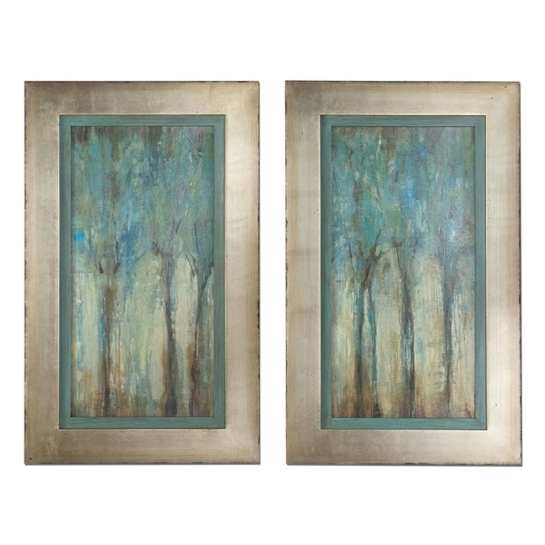 Shop Uttermost 'whispering Wind' Framed Art (Set Of 2) – Free Within Uttermost Wall Art (Image 8 of 25)