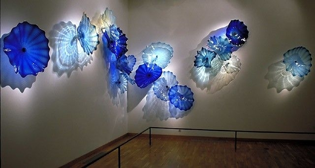 Showy Decorative Murano Glass Plates Wall Art | Office Accents With Glass Plate Wall Art (Image 19 of 20)